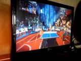 BREVI kinect sport  table tennis xbox live online multiplayer xbox 360  gameplay ping pong