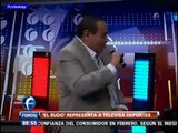 Rudo Rivera cantando el Noa Noa en Matutino Express