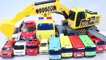 타요 포코 포크레인 또봇 헬로카봇 자동차 장난감 차 Tayo the Little Bus Tobot Toys мультфильмы про машинки Игрушки
