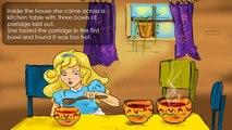 Goldilocks and the Three Bears.   Children story.