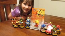Pac-Man amiibo joins the Super Smash Bros. battle! It's our Pac-Man amiibo unboxing and review!