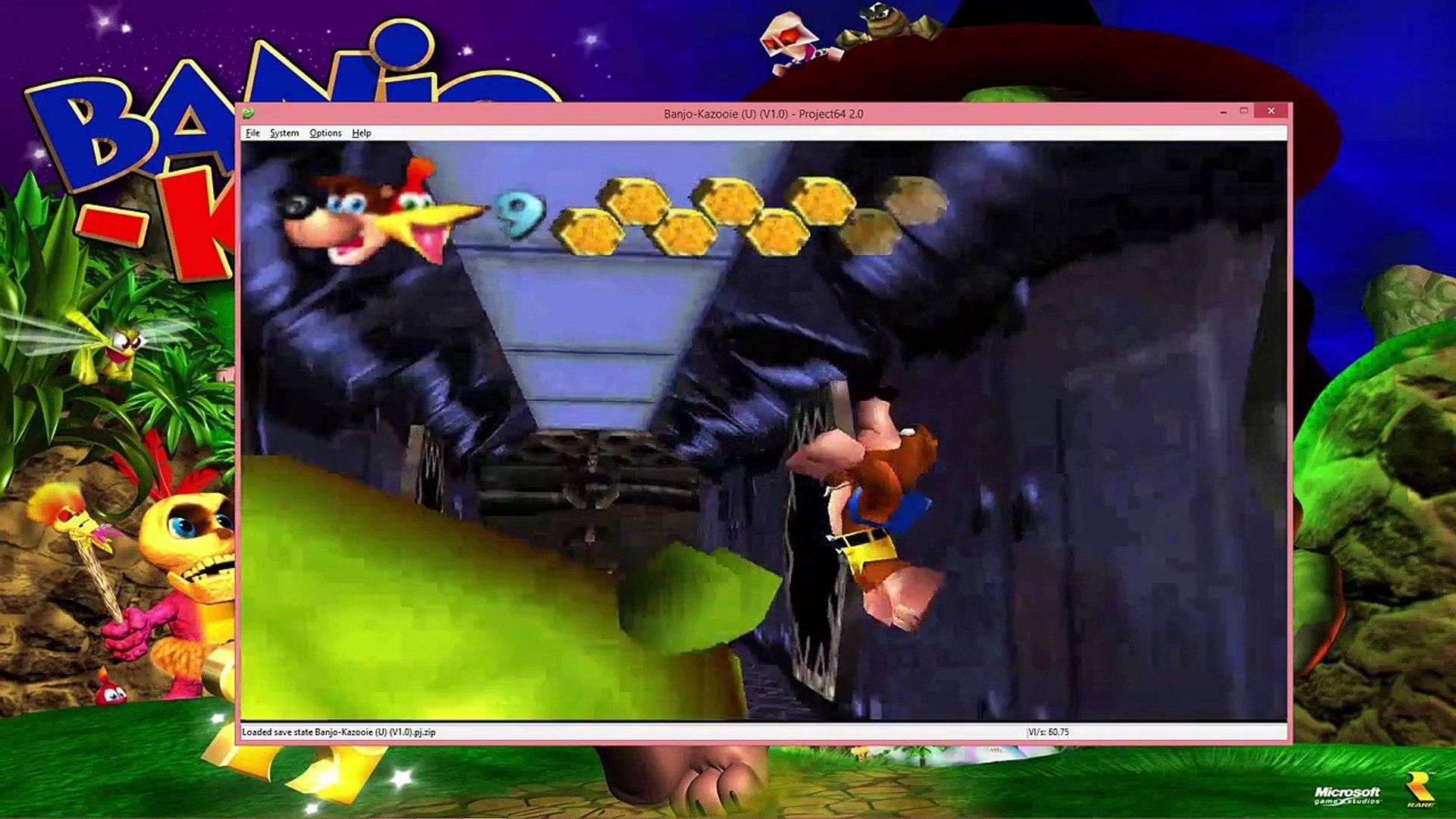 RDT Plays Banjo-Kazooie Part 40: Shark Savin' Bear