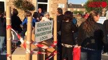 Plouezec : les parents bloquent l'école maternelle pour réclamer l'ouverture d'une classe