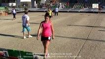 Fin huitièmes F2, France Simple, Sport Boules, Chalamont 2015