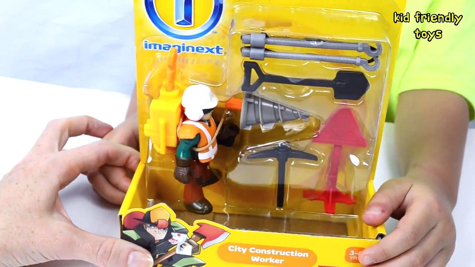 Imaginext City Construction Worker