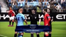 FIFA 16 GAMAPLAY XBOX 360/PS3  Manchester United X Manchester City