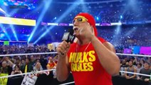 WWE WrestleMania 30 - Hulk Hogan Welcomes The WWE Universe To WrestleMania