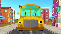 Spiderman Cartoons for Babies Wheels On the Bus Go Round And Round Children Nursery Rhymes