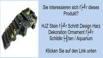 HJZ Stein für Schritt Design Harz Dekoration Ornament für Schildkröten / Aquarium