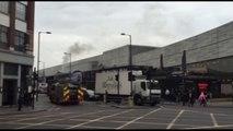 Fire at Shoreditch Boxpark