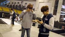 SS5 Seoul Behind The Scenes - Ice Cream Practice (Sungmin, Ryeowook, Siwon, Kangin)