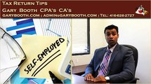 Tax Return Tips | Chartered Professional Accountants, CPA, CA, garybooth.com