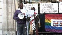 The Protest against Ugandan Anti-Homosexuality Bill 2009-Skye