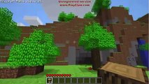 Minecraft fun! Making wood! 360 NO SCOPES! JOHN CENA! B00BIZ!