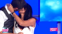 Christophe Beaugrand embrasse Nathalie (SS8) - ZAPPING PEOPLE DU 09/09/2015