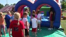 UCM Athletics: 2014 Mules Football Family Fun Day