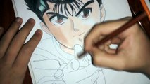 Speed Drawing Yusuke Urameshi (YuYu Hakusho)