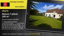 Vente - maison - Jouy-le-moutier (95280)  - 180m²