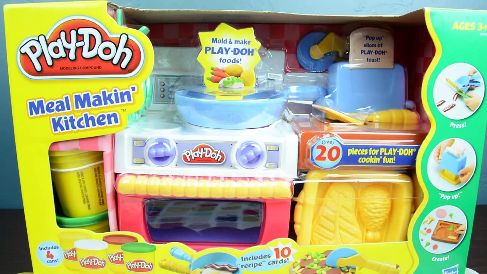 Play Doh Meal Makin Kitchen Play Doh Food Video Dailymotion