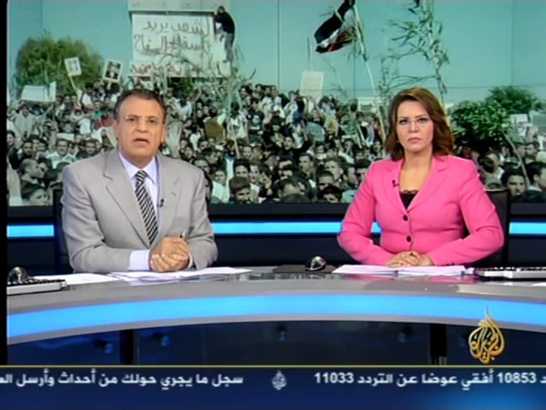 Aljazeera Syria news 03 12 2011 هيثم ابو صالح حمد بن جاسم رئيس وزراء قطر حصاد اليوم الجزيرة جمال ريا