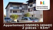 A louer - Appartement - ONDRES (40440) - 2 pièces - 43m²