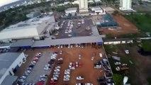 Drone Phantom no centro de Palmas Tocantins