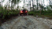 BDD Jeep in Ocala National Forest - with the Mid Florida Jeep Club