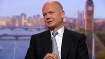 """William Hague """"If you have nothing to hide, you've nothing to fear"""" (09Jun13)"""