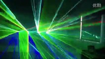 4pcs high power 3w RGB full color laser cartoon animation light  laser show system