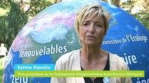 Vice-présidente de la communauté d'agglomeration Saint-Etienne Métropole: les territoires de la transition énergétique en action