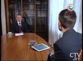 Интервью министра иностранных дел Беларуси В.Макея программе Неделя телеканал СТВ