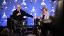 Harbaugh parents discuss family's 49ers-Ravens connections