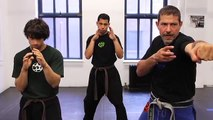 Krav Maga Training|How to Do a Straight Punch Combination|Self Defense Fighting Techniques