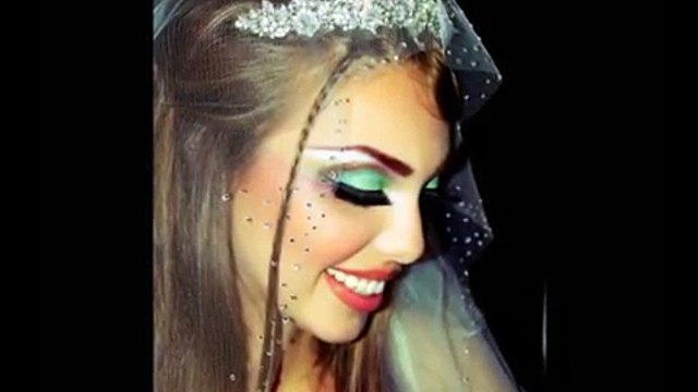 Exotic Colorful Wedding Makeover - Arabic Middle Eastern Eyes