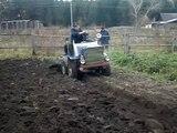 Самодельный трактор из ЛУАЗа