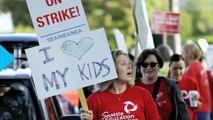 Seattle Teachers Go on Strike on First Day of School as Negotiations Break Down