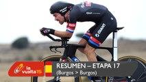 Resumen - Etapa 17 (Burgos / Burgos) - La Vuelta a España 2015