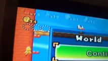 New Super Mario Bros  Wii - Infinite Flutter Jump Glitch - video