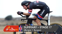 Summary - Stage 17 (Burgos / Burgos) - Vuelta a España 2015
