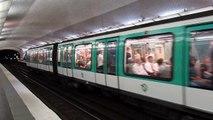 Métro de Paris, Matériel MF2000 de la Ligne 2, à la station Blanche