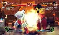 Ultra Street Fighter IV battle: Zangief (HARLEMS-WORLD) vs Hugo (eva02langley)