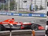 Burn-out Midland F1 Christijan Albers part 3, Filmed by Rasz