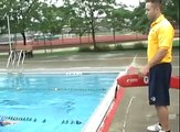 Kyle Shevrin Learns How To Swim