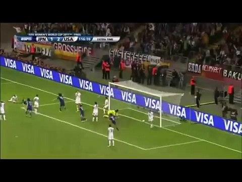 澤穂希 W杯決勝での芸術的なゴールをマンチーニの伝説的ゴールと比較
