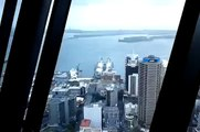 Views from the Auckland Sky Tower