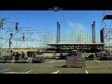 Héroes del Silencio: Montaje del escenario Tour 2007