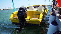 20 Feet Boat by Turkan Marine      (First Touch with Caspian Sea)