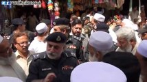 IG KPK Nasir Khan Durrani Visit To A Bazar (Market) In Kohat And Informal Talk With The Public