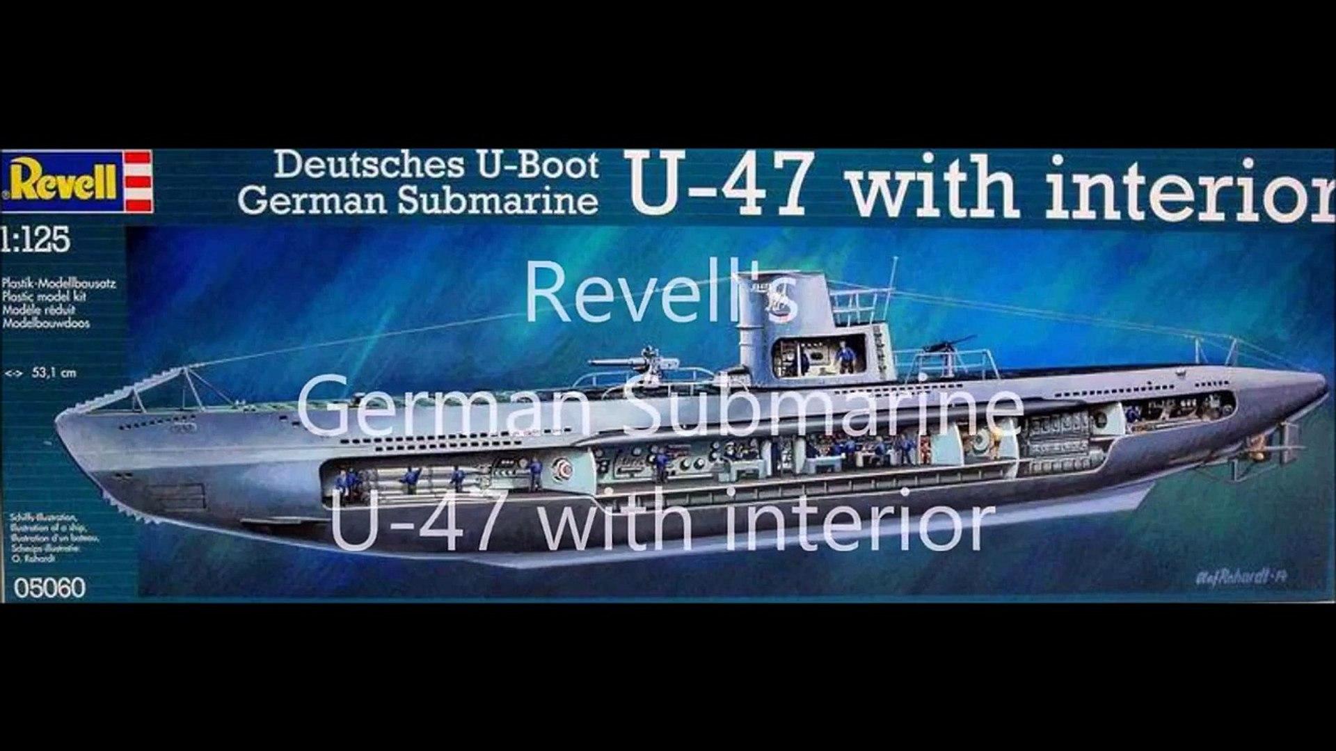 Legacy of Bjornu   Modelling   Revell's German Submarine U-47 Gunther Prien  1:125