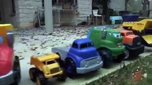 Toy Dump Trucks Tow Trucks and Construction Trucks - Toy Truck Videos for Kids